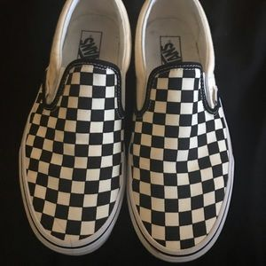 BRAND new NWOT Checkerboard Vans